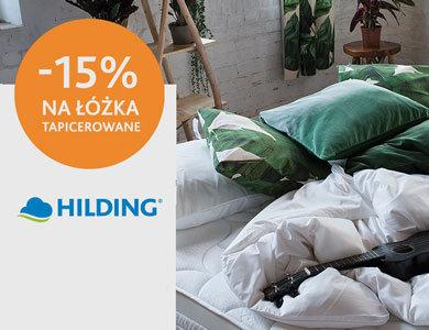 HILDING :: Łóżka tapicerowane 15% taniej